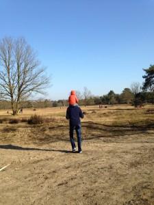 Uit met kinderen op de Kesselse Heide