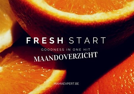 Fresh start | Dit was juni 2016 + zomerplanning