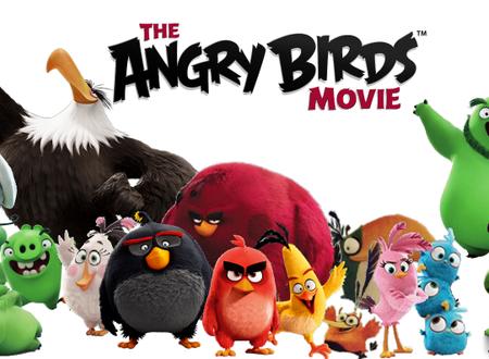Snacken met de Angry Birds
