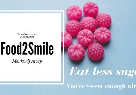 Meukvrij en gezond snoep met Food2Smile