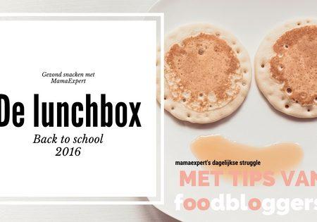 6 keer gezond lunchen op school