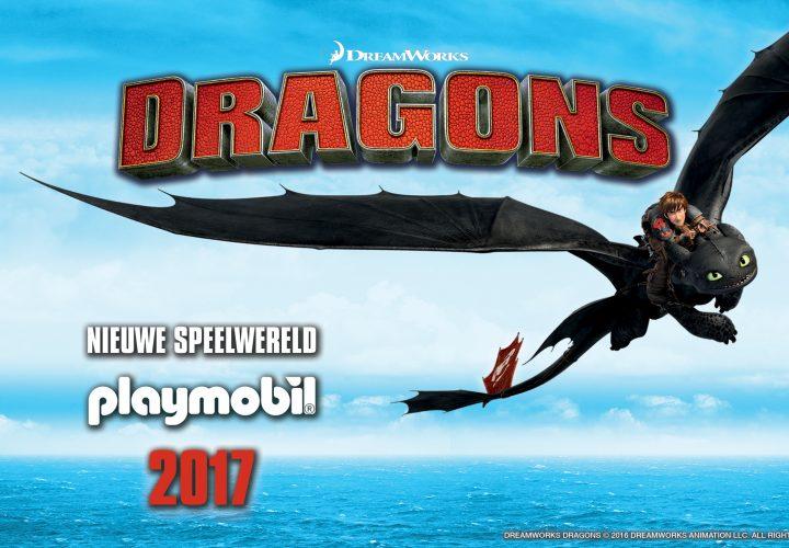 PLAYMOBIL-avonturen in de lucht met 'Hoe tem je een draak'-speelsets!
