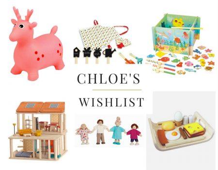 Chloé wordt drie! Birthday wishlist van De Blije Egel