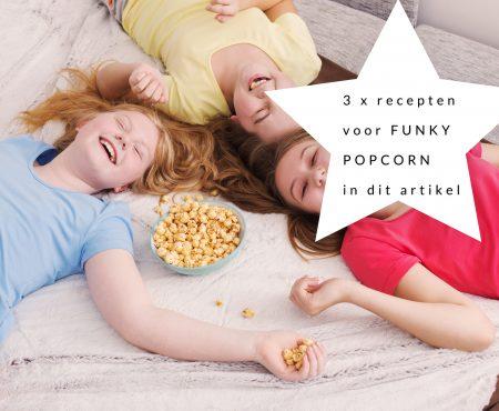 3 x apero-inspiratievoor kids met popcorn, kaasstengels en groentenfrietjes