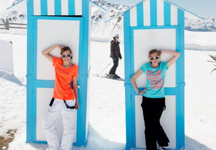 Ontdek snel 5 redenen waarom lenteskiën in de Franse bergen de allerleukste familievakantie is