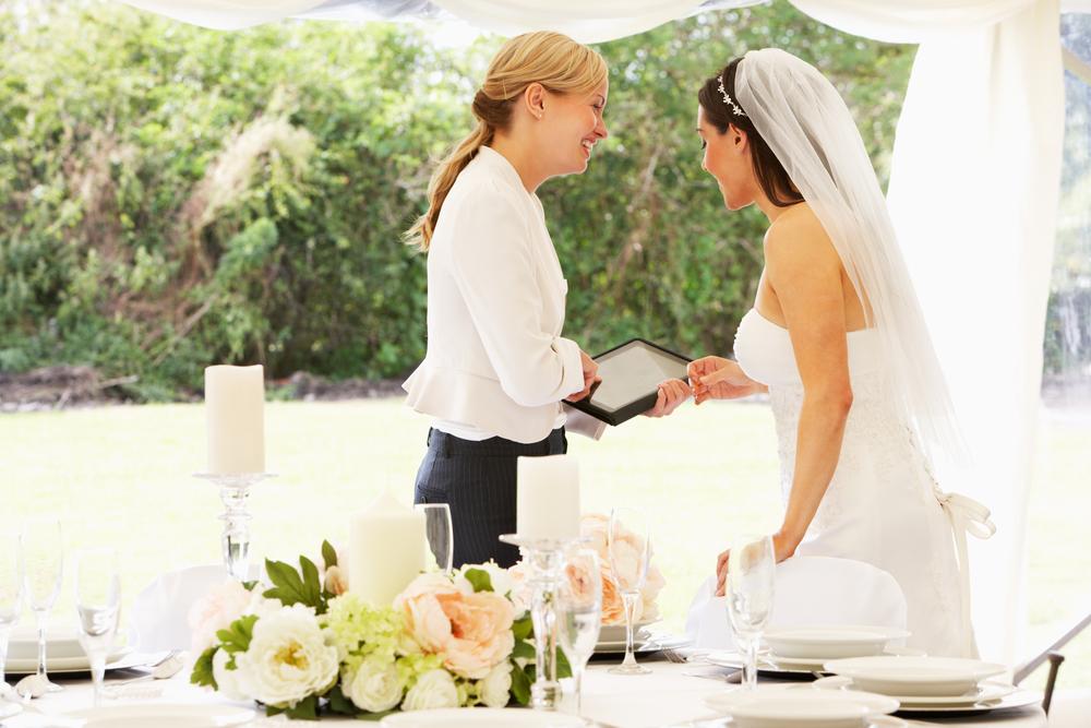 Het plannen van bruiloften = het mooiste beroep ter wereld