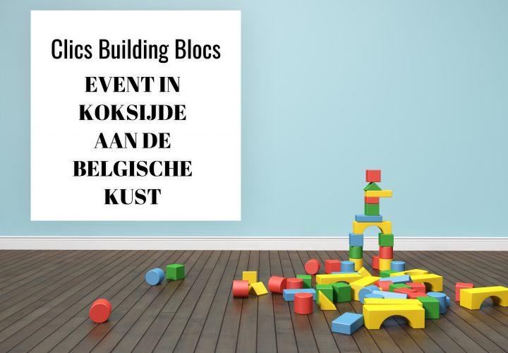Waar naar toe aan de Belgische kust? Clics Koksijde – kinderen spelen met meer dan 150.000 blokken!