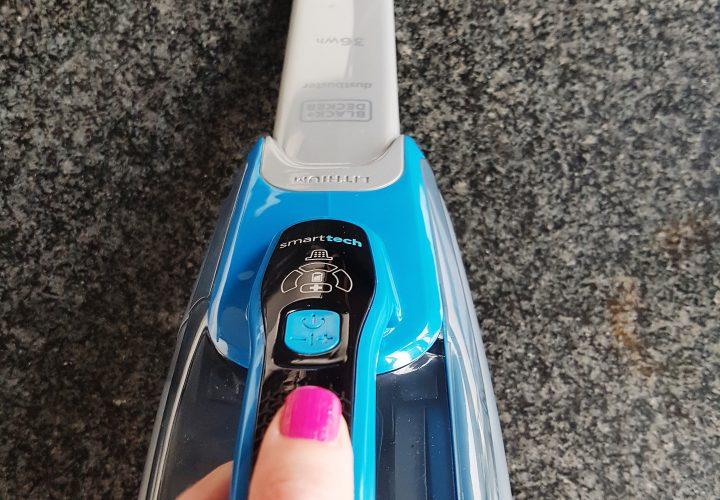 ReviewSteelstofzuiger SVJ520BFS  Black+Deckers' uit de kluiten gewassen kruimeldief wordt dagelijks gebruikt in Vlaams gezin