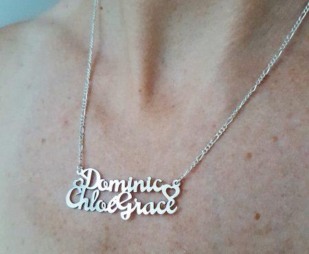 Waarom mijn dochter Chloé Grace heet en de zoon Dominic