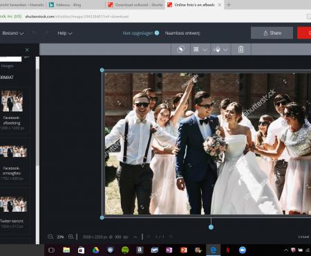Kan de nieuwe Shutterstock Editor tegen Canva.com op?