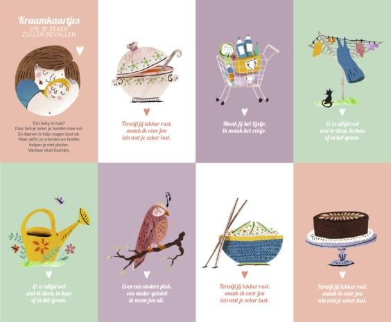 postnatale depressie sneller opmerken door Kraamkaartjes