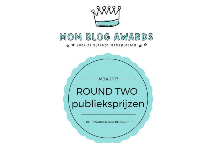 Mom Blog Awards 2017 – Schrijf je NU in voor het event + ronde voor de publieksprijzen!