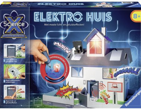 [Tip voor Sinterklaas] De experimenteerdoos van ScienceX® 'Elektro huis'