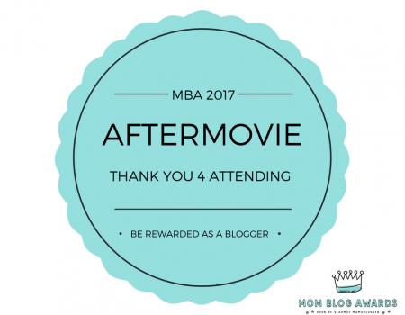 De aftermovie van de Mom Blog Awards 2017 is er!