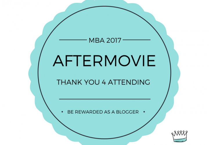 De aftermovie van de Mom Blog Awards 2017 is er!