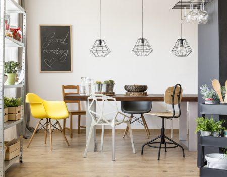 [Interieur] Met de juiste verlichting zorg je voor sfeer en gezelligheid in jouw eetkamer!