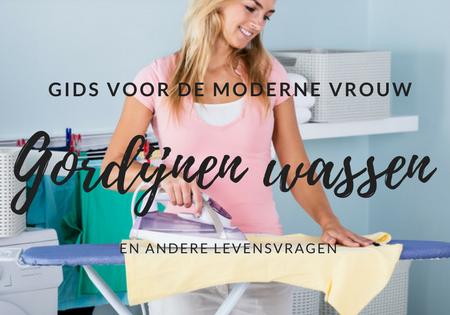 Mag je gordijnen wassen in de wasmachine en andere levensvragen | Gids voor de Moderne Vrouw