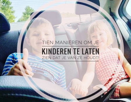 10 manieren om tegen je kinderen te zeggen dat je van ze houdt