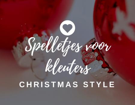 9 spelletjes voor kleuters: kersteditie! Hou je kleuters bezig terwijl jij kerst viert