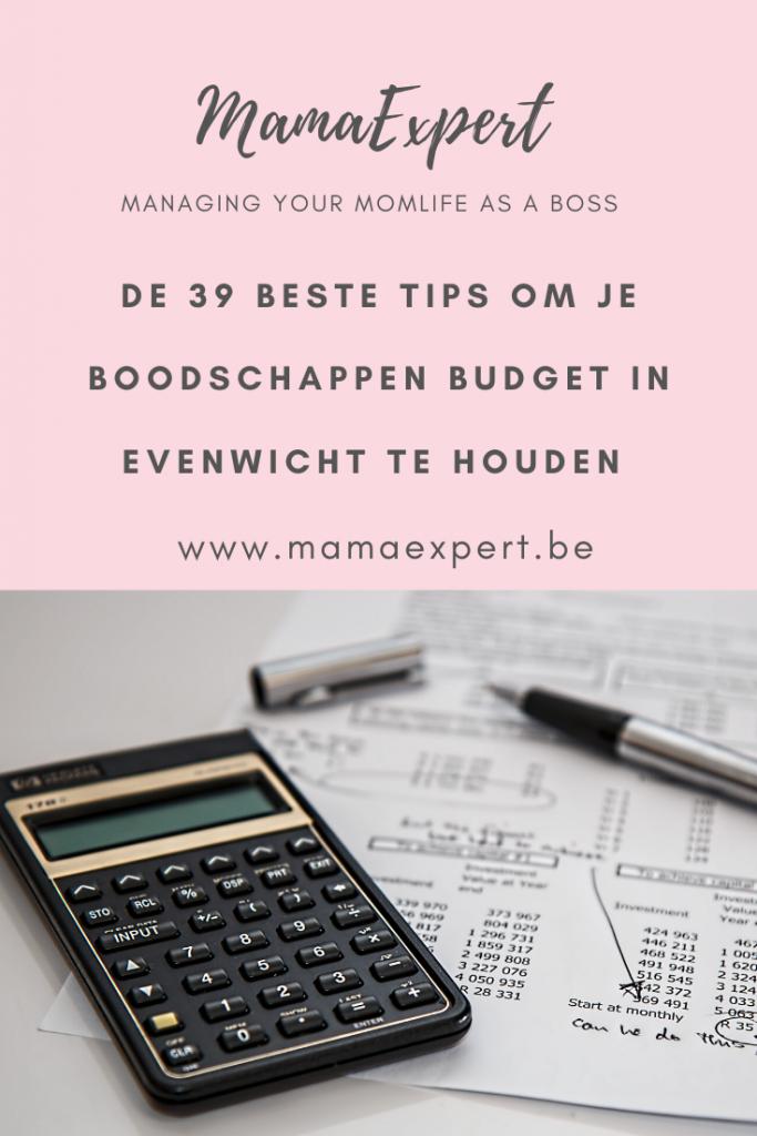 boodschappen budget tips