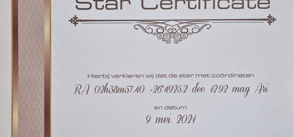 Online Star Register: geef je mama haar eigen ster aan het universum!