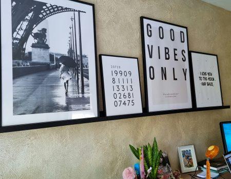 Je thuiskantoor in industriële look: wanddecoratie en kamerplanten + KOOP MET KORTING